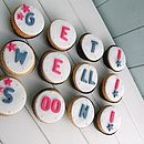 12 Get Well Soon Cupcakes