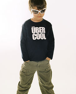 Uber Cool Long-Sleeved T-Shirt - clothing