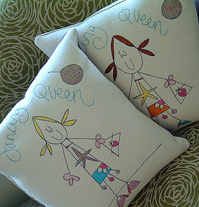 Personalised Dancing Queen Cushion - bedroom