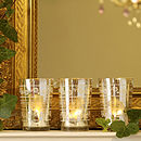 Antique-Style Mirrored Votives