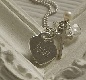 Personalised Silver Spirit Necklace - for children