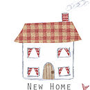 'New Home' Card Close-Up