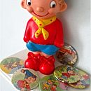 Noddy magnets and doll