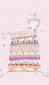 The Princess And The Pea Wallpaper Panel.