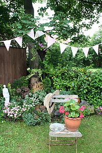 Handmade Fabric Bunting - art & decorations