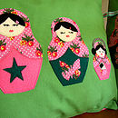 green russian dolls 4