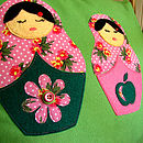 green russian dolls 6