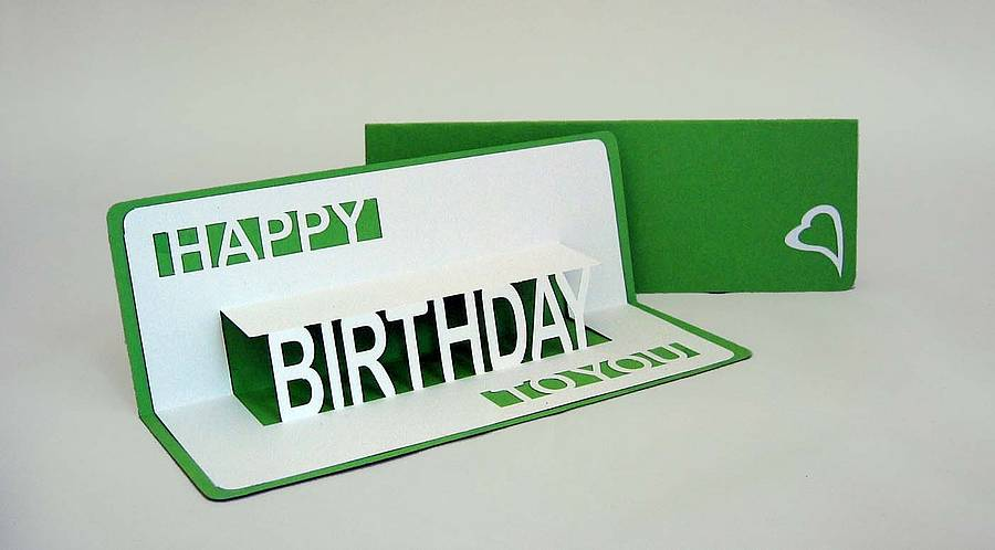 happy birthday to you popup card by ruth springer design – Happy Birthday Pop Up Cards