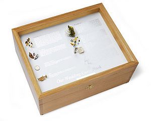 Wedding Guest Book Box - stationery