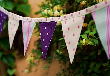Spots & Stripes Summer Bunting