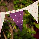 Spots & Stripes Bunting (2)