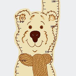 Height Chart Teddy Bear - baby's room