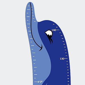 Height Chart Dolphin - height charts