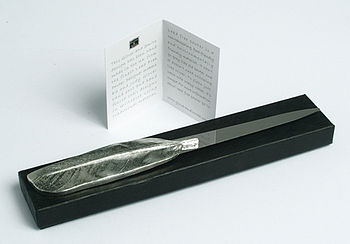packaging letter opener