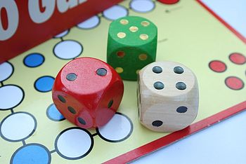 dice with game