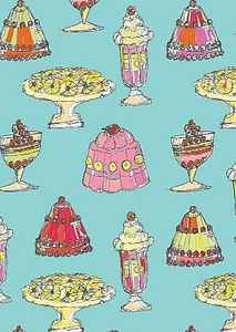 'Jelly and Ice' Cream Greetings Card