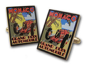 Monaco Cufflinks - shop by personality