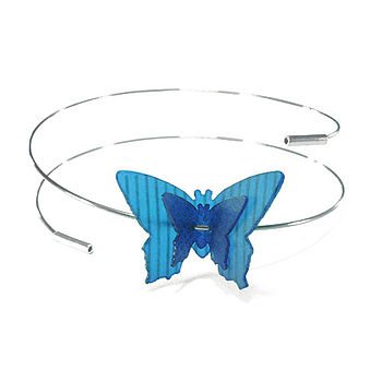 Blue Mix Butterfly