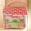 GINGHAM PLAY HOUSE