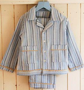 Traditional Boys Striped Pyjamas - nightwear