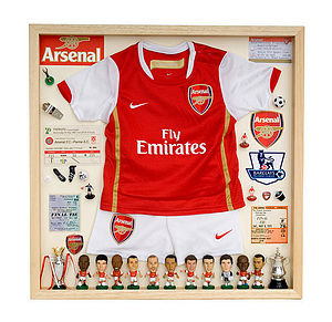 English Team Football Display Case - children's pictures & paintings