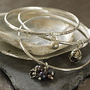 Triple Cluster Bangle