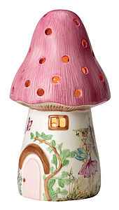 Dewdrop Toadstool Lamp - children's lighting