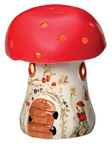 Bramble Toadstool Lamp - lighting