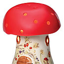 Bramble Toadstool Lamp