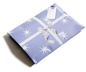 Starburst Giftelope - ribbon & wrap