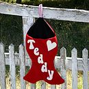 Cat Fish Christmas Stocking