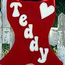 Cat Stocking Detail
