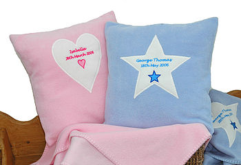 Cushions with applique