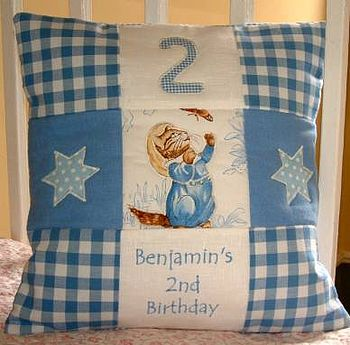 B.P Birhtday Cushion