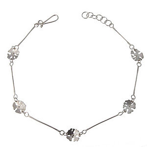 Campion Flower On Bar Necklace - necklaces & pendants