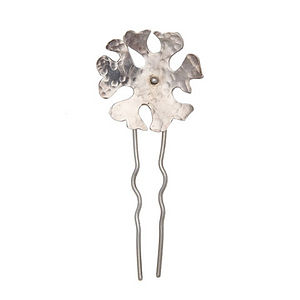 Large Campion Flower Hairpin - for children
