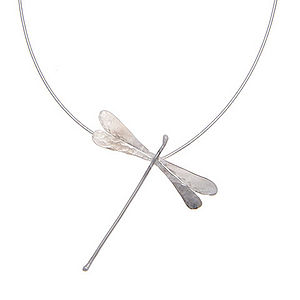 Large Dragonfly Pendant - necklaces & pendants