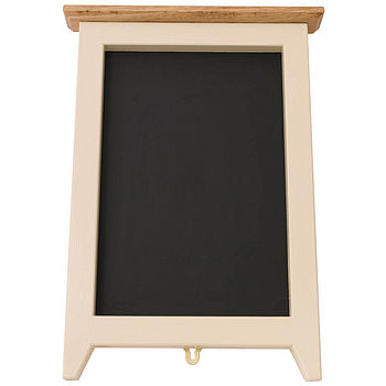 pot cubby black board