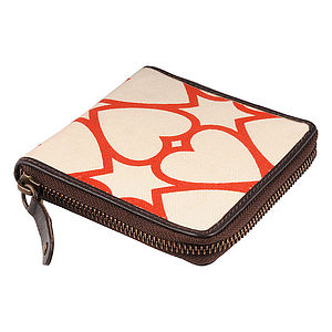Carnaby: Printed Canvas Wallets - purses & wallets