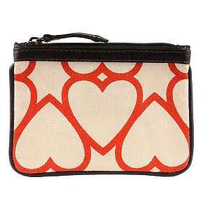 Carnaby: Printed Canvas Coin Purses - bags, purses & wallets