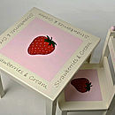 Strawberries & Cream Table