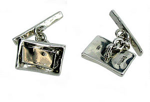 Personalised Sterling Silver Cufflinks - jewellery & cufflinks
