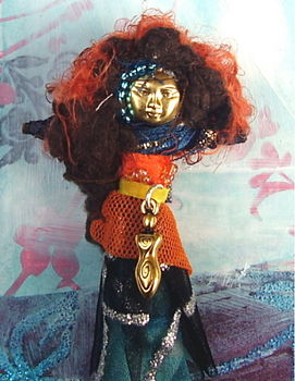 Anam Cara Doll Brooch
