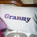 Personalised 'Granny' Or 'Grandpa' Pillowcase