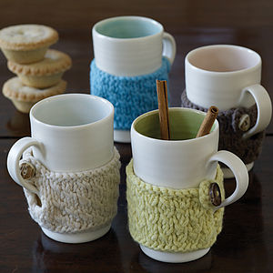 Hand Thrown Cosy Mug - autumn-inspired home accessories