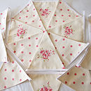 Tilly Bunting - Cream