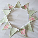 Tilly Mini-Bunting - Green