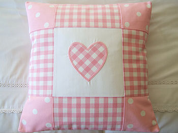 Patchwork Gingham & Dots - Pink