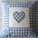Patchwork Gingham & Dots - Blue