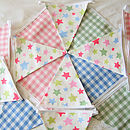 Stars & Mixed Gingham